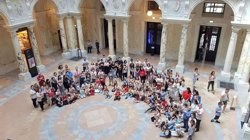 Ora e mësimit nga lënda e historisë në Muzeun botëror të Vjenës
